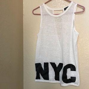 "Rampage tank top- ""NYC"""